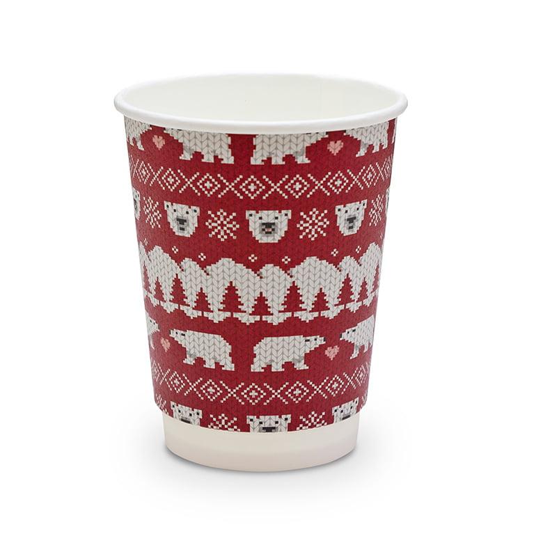 vegware_christmas_polar_bear_12oz_hot_cup